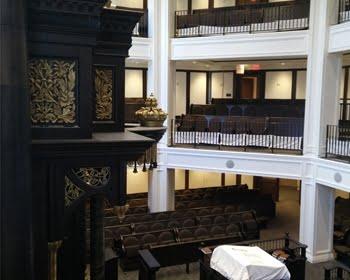 שחזור בית הכנסת פורסט היל על ידי רהיטי לביא