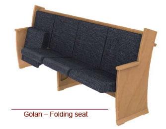 lavi - Golan - Folding seat