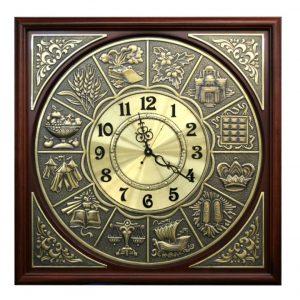 holy artwork synagogue clock